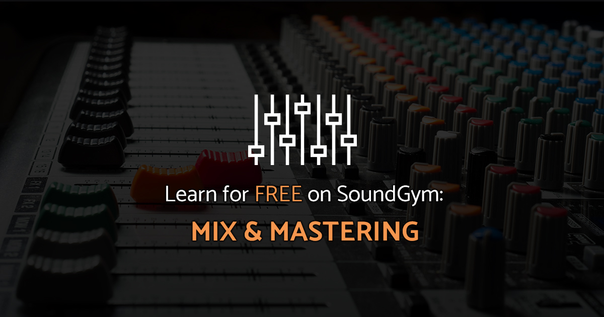 free online mixing and mastering course